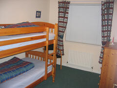 Bunks in the third bedroom