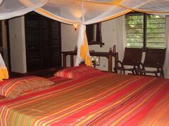 Master Bedroom- King Size Mvule Bed