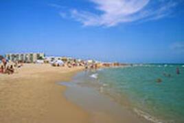 One of Oliva's beaches