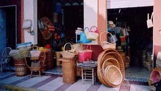 Gata de Gorgos - famous for basketware