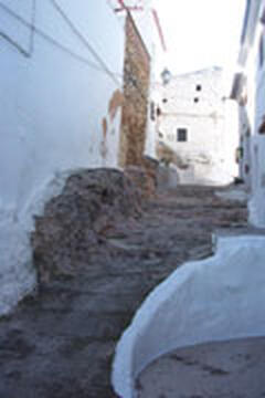 The oldest street in Oliva - dating back to Moorish times