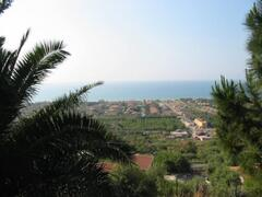 panorama from the villa
