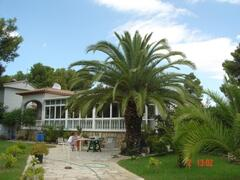 Property Photo: House, with sun terrace and large garden