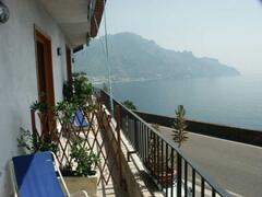 Property Photo: View of the Gulf of Salerno from the B&B