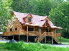 Property Photo: Bearly Rustic Log Cabin