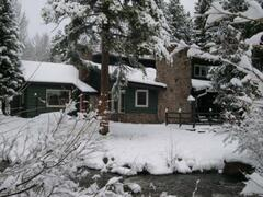 Property Photo: Vasquez Creek Lodge in Winter