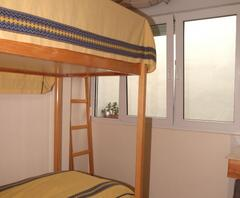 2 nd bed room w. bunkbed