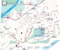 Street plan Carabeo 2000