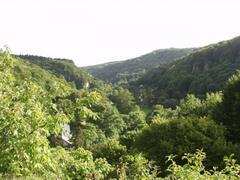 Local limestone valley