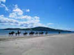 Kinnegar Beach Rathmullan - 10 second walk from Cois Farraige Cottage