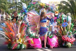 Carnival time in Los Cristianos