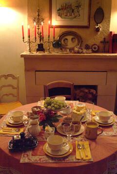 Property Photo: Breakfast feast