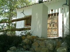 Property Photo: Front door to Villa