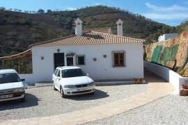 Property Photo: The villa with plenty of parking