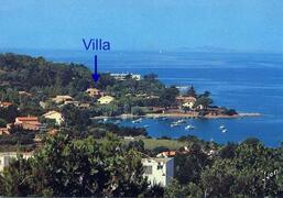 Property Photo: Villa by the sea in Corsica