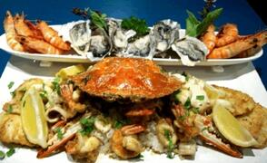 Seafood dinner for two!