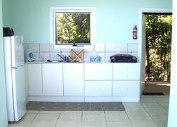 Open style kitchenette