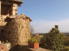 the front entrance at Mas Grau