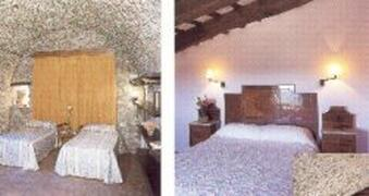 two other bedrooms, one is en suite with terrace, the other barrel vaulted ceiling