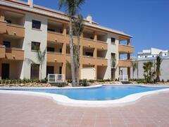 Property Photo: Top floor apartment overlooking Pool and Gardens