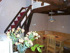 Property Photo: Dining area and mezzanine
