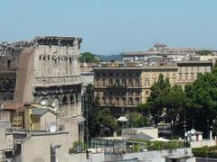 Property Photo: Bedroom Colosseum view