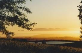 Property Photo: Sunset towards False Bay