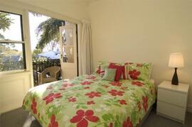lower unit bedroom