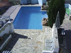 private bedroom terrace