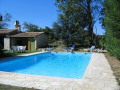 Property Photo: Large pool with diving board