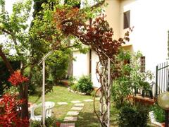 Property Photo: The back of La Villetta from the garden