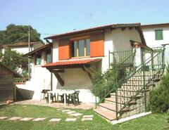 La Capanna from the lower garden terrace