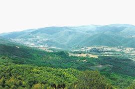 The countryside near La Capanna