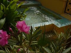 Jaccuzi on terrace