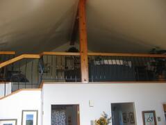 The loft family room