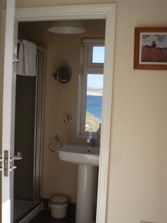 2nd Bedroom  Ensuite with sea views