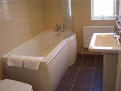 3rd Bedroom  Ensuite with sea views