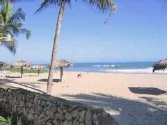 Beachfront condo residents beach