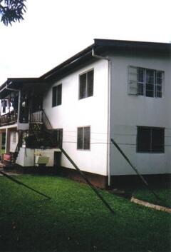 Back view of flat