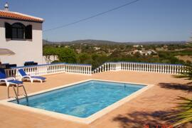 Property Photo: Private pool and view