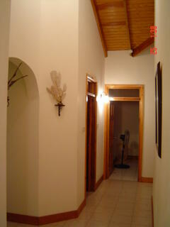 View of house hallway