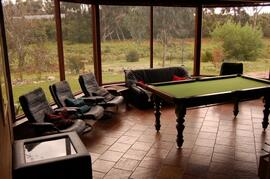 Lodge games room