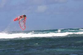 windsurfing close