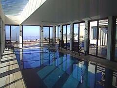 Property Photo: Indoor heated pool with hoist