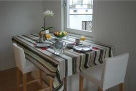Property Photo: diningtable with a view