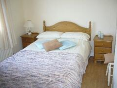 one of the comfortable bedrooms