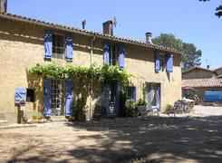 Property Photo: The farmhouse, with gite shown on left