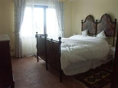 The Double Bedroom with Antique Italian Bed