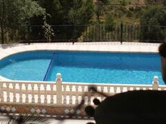 Pool with kids bath