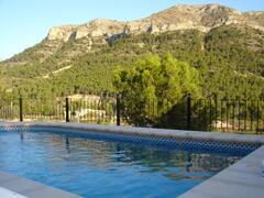Property Photo: Pool with view on the montain